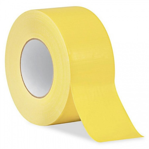 5M X 50MM Yellow Duct Tape For General Purpose Use